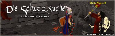 Banner: Die Schatzsuche